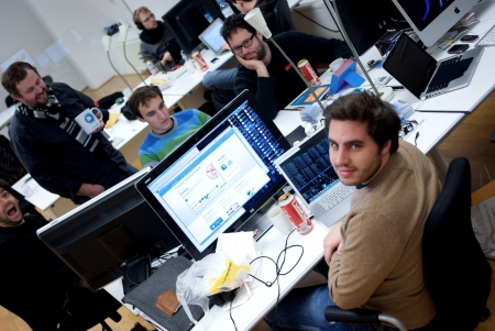 Tupalo.com team at the office