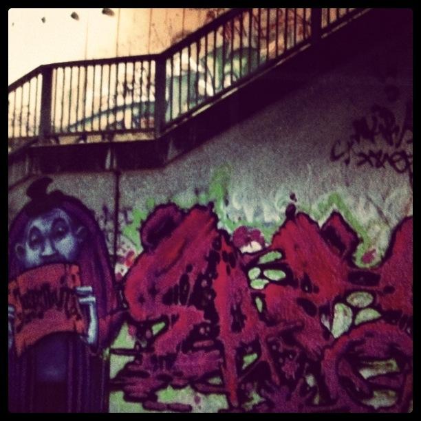 Graffiti @Donau Kanal