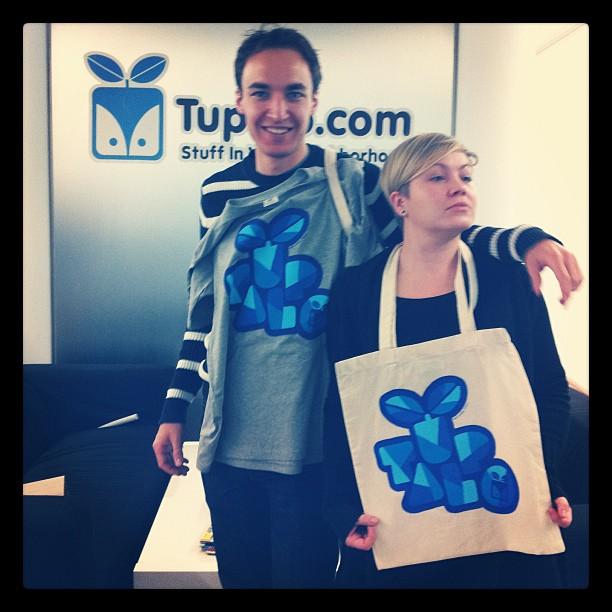 Tupalo.com x Bart Aalbers Shirt & Tote Bag