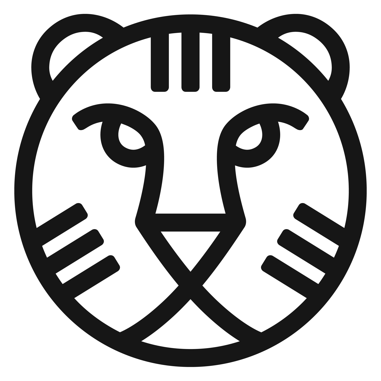 IFFR logo tijger