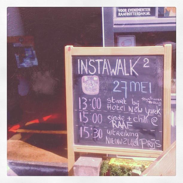 Instagram walk Rotterdam