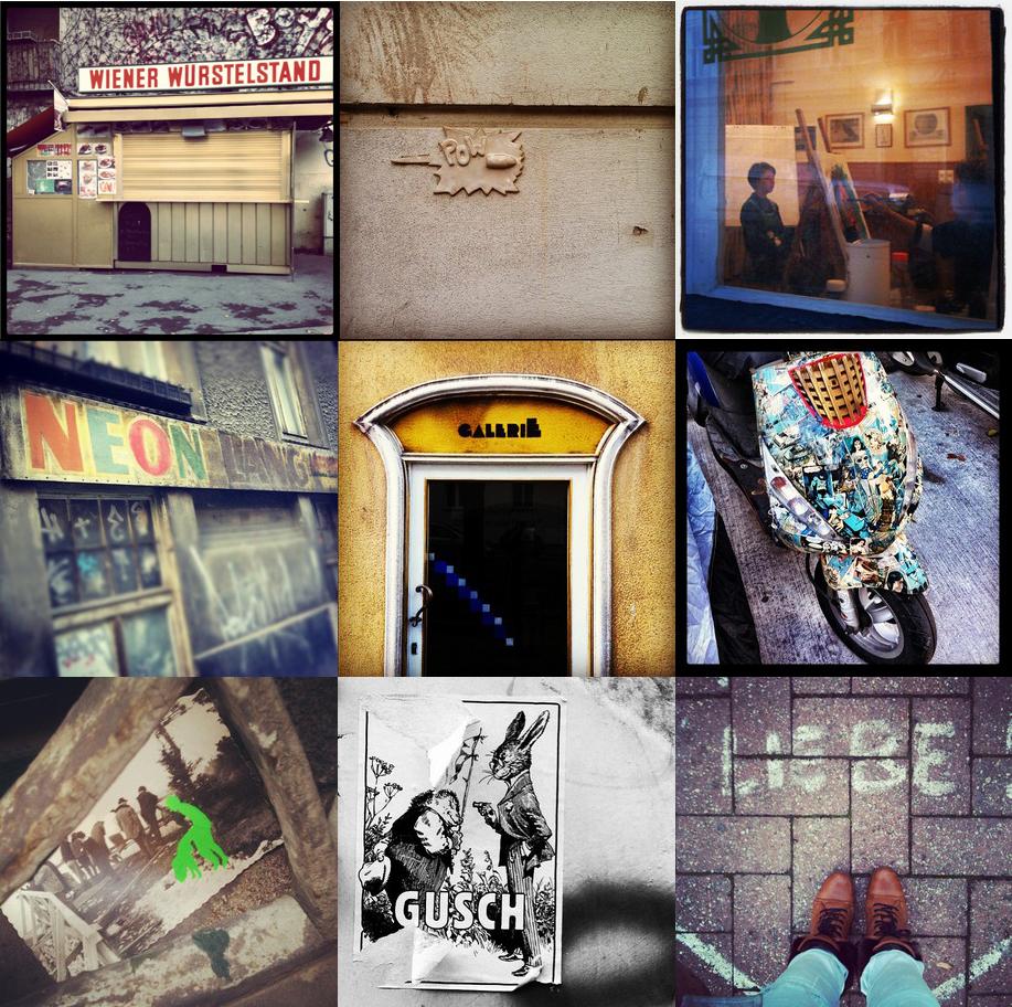 Impressionen vom ersten Instagram Walk in Wien