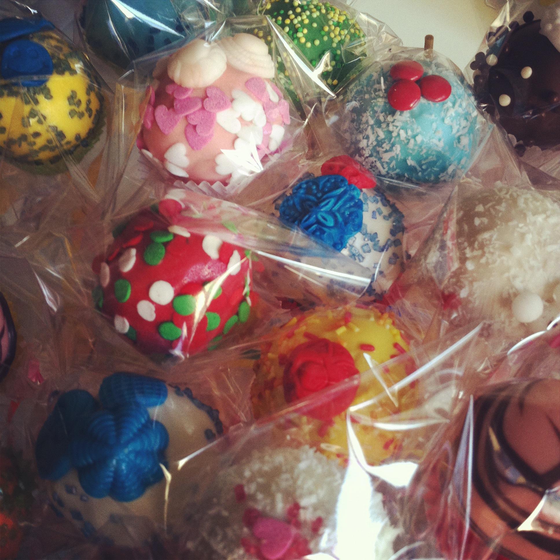 Cake Pops - Das Endresultat