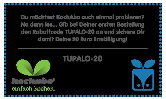 KochAbo x Tupalo.com rabattcode