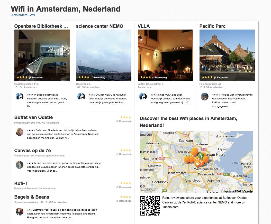 wifi spots amsterdam